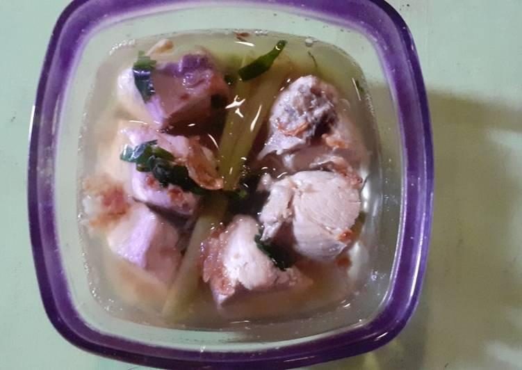 Sup Ayam untuk anak