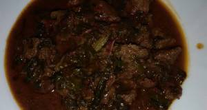Beef stew with spinachmums recipe