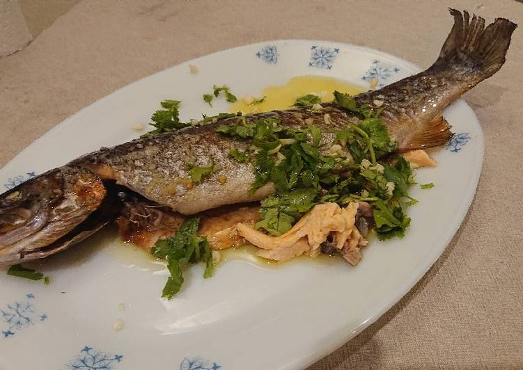 Recipe of Homemade Baked Rainbow Trout