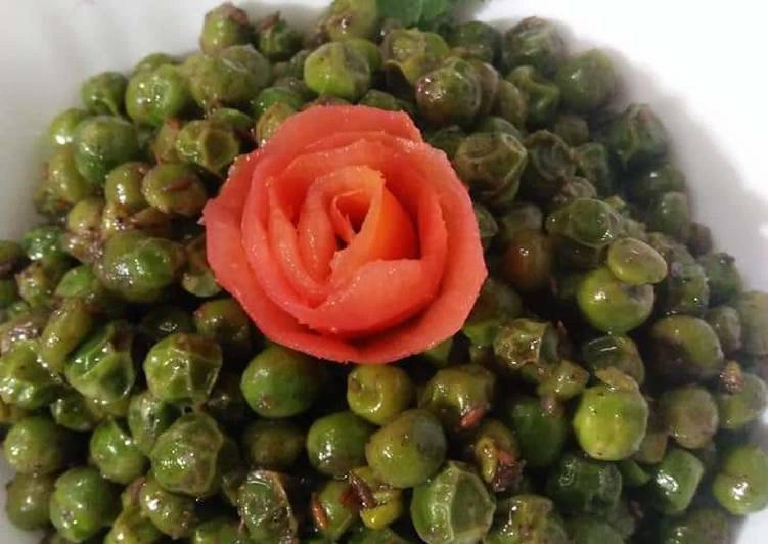 Green Peas Chaat