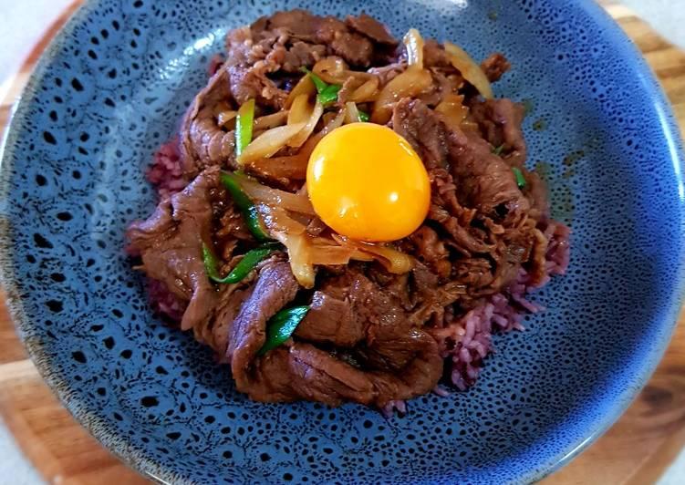 Steps to Prepare Favorite Beef Teriyaki Serve with Brown Rice