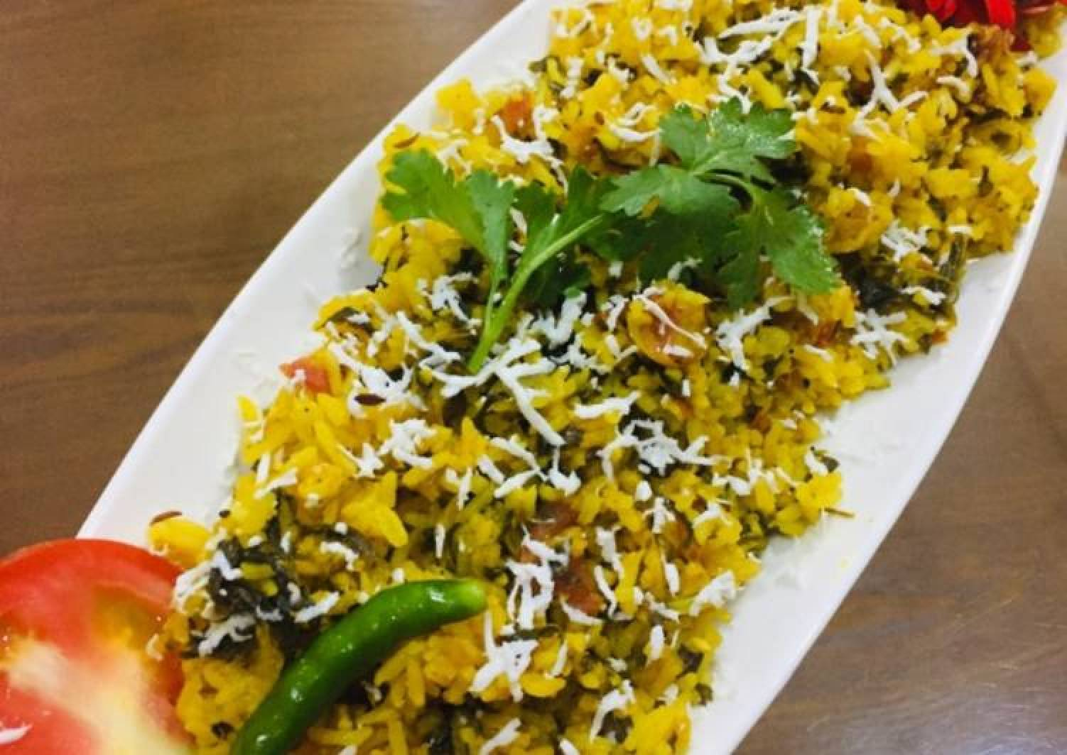 Fenugreek (Methi)pulao