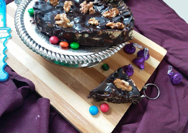 Chocotruffle Biscuit cake
