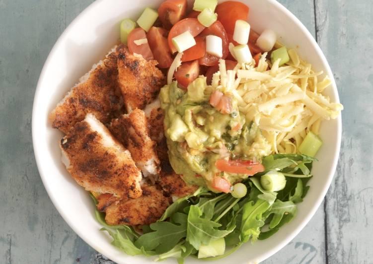 Recipe of Any-night-of-the-week Fish Burrito Bowl