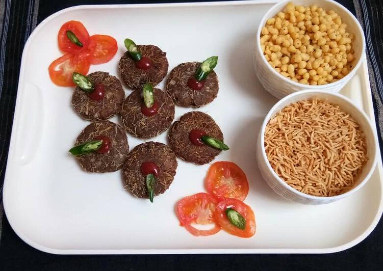 Chestnut Flour Soyabean Potato Fried Tikki