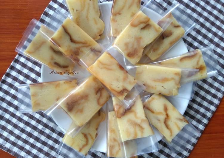 Sarikaya/Talam/Puding Roti Tawar Kukus