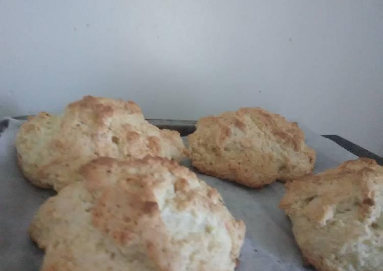 Pancake mix drop biscuits