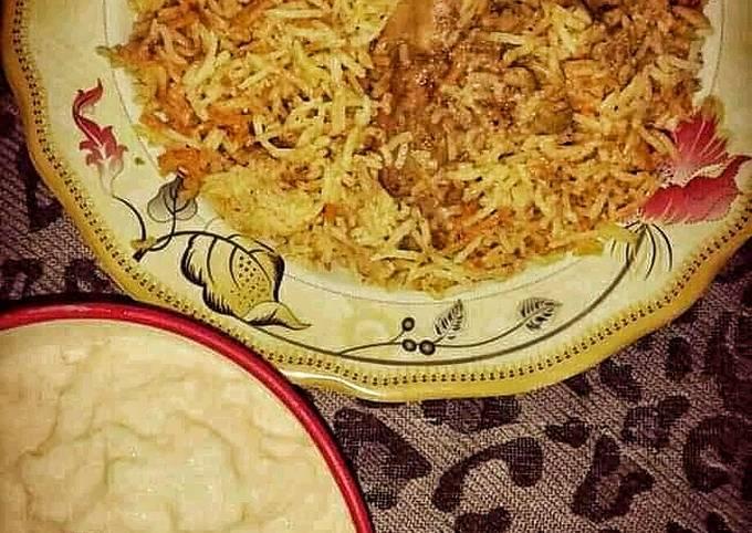 Recipe of Favorite Chicken Biryani…??