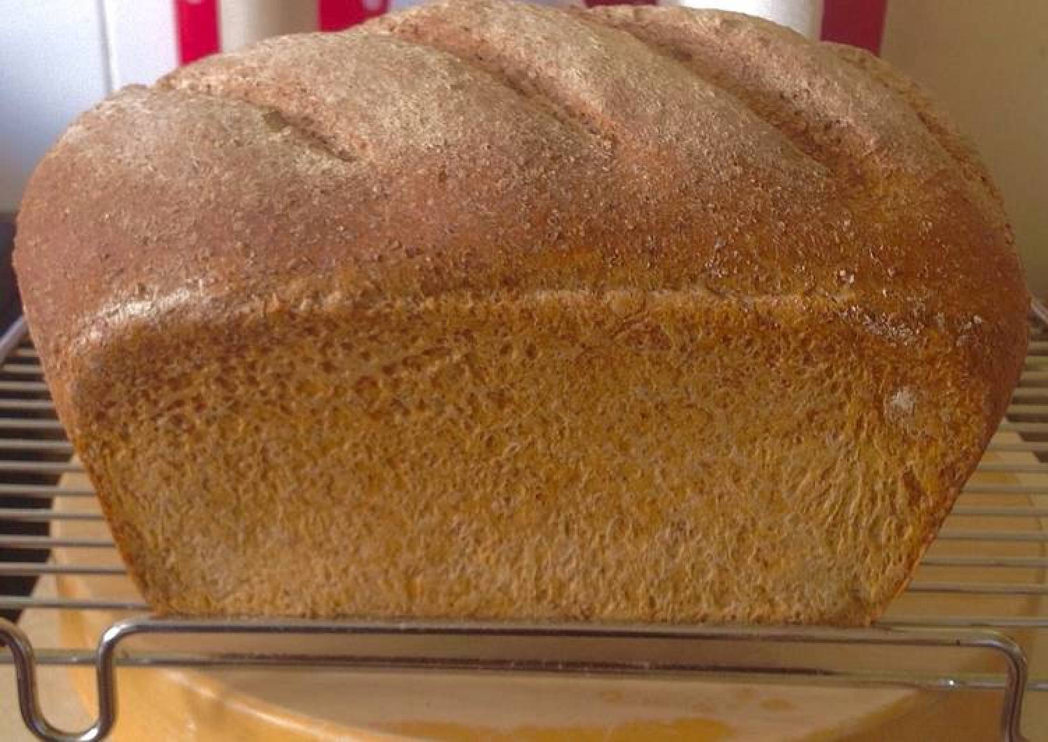 Stone ground whole wheat artisan bread