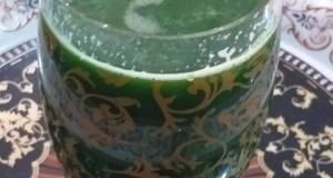 Kale and cucumber drink
