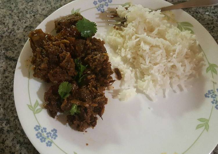 South Indian Spicy Mutton Fry