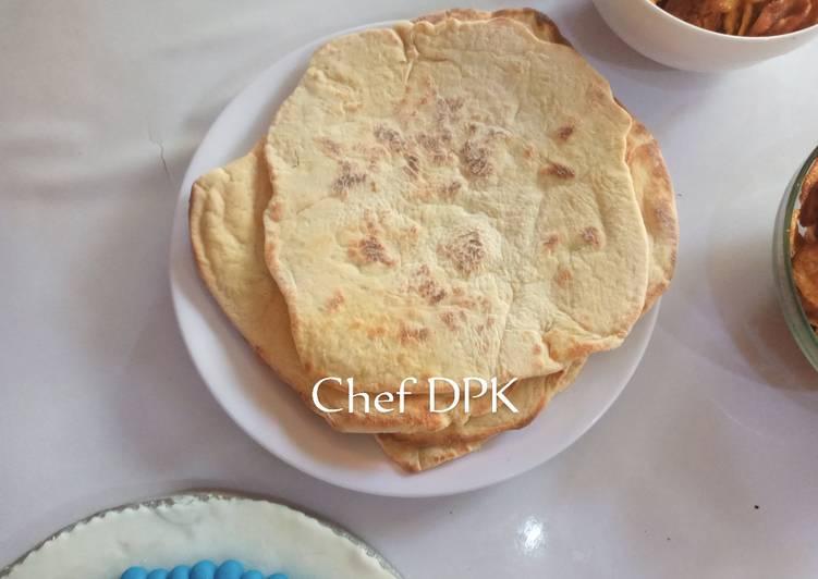 Recipe of Speedy Shawarma bread