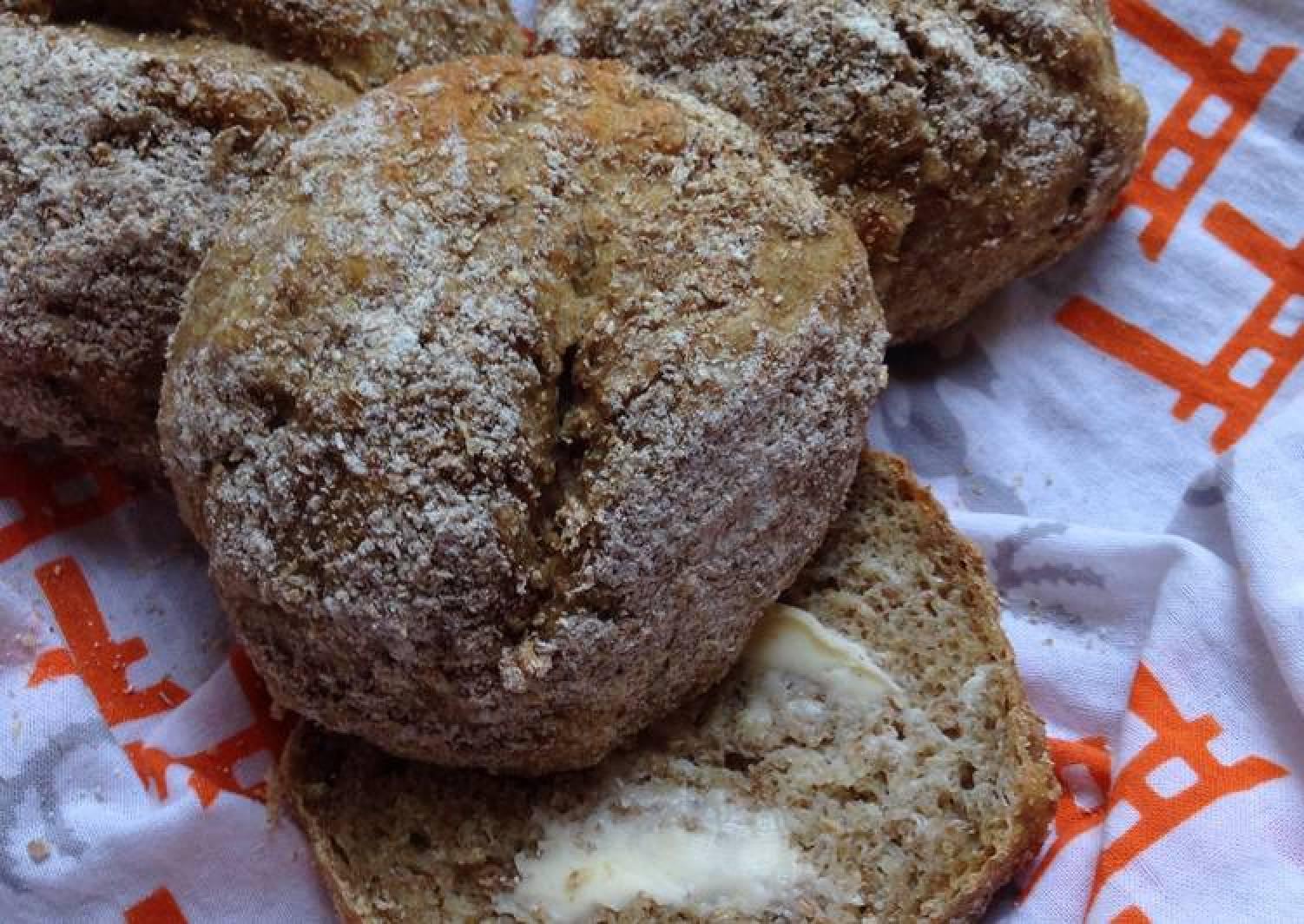 Potato Bread Rolls with Rye Flour