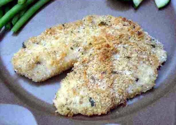 Broiled Talapia Parmesan