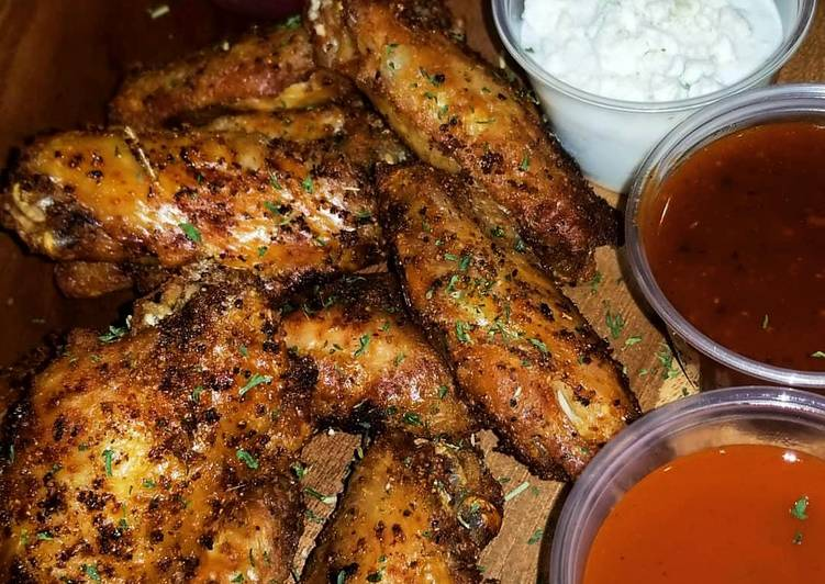 Crispy Seasoned Naked Wings