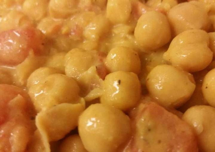 Curry Chickpeas