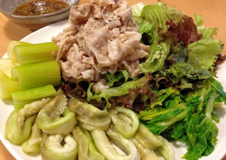 Cold Pork Shabu-Shabu