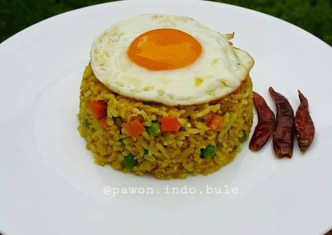 Curry Tuna Fried Rice
