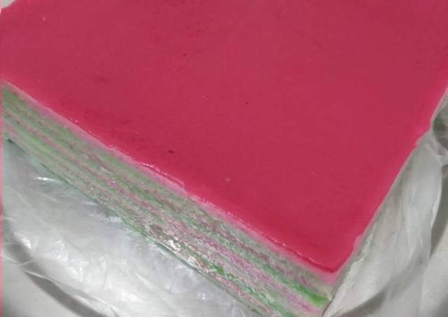 Kue Talam lapis tepung beras