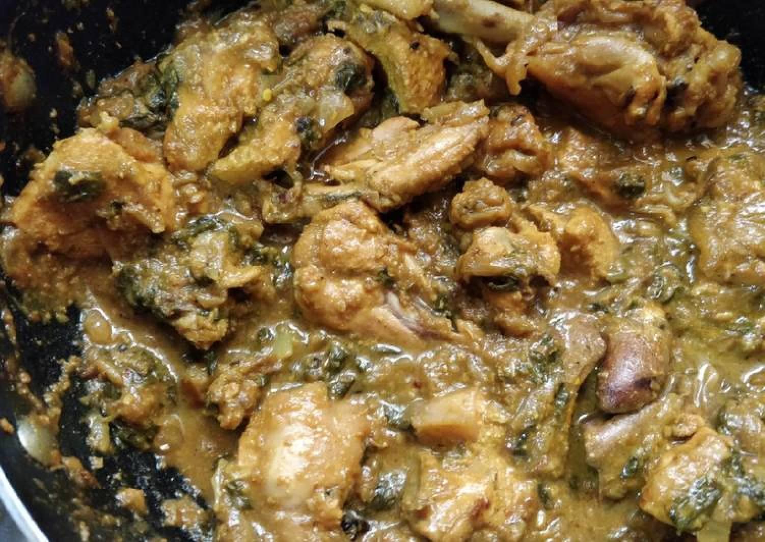 Methi (Fenugreek) Chicken
