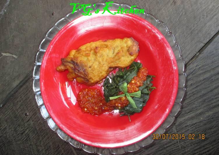 Snakehead Fish Waterspinach Salad (GABUS LALAP KANGKUNG)