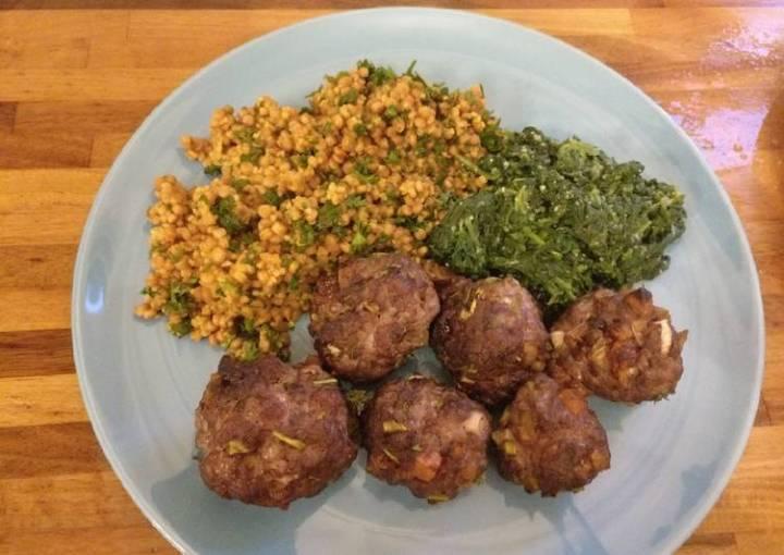 SW Moroccan Meatballs & Couscous