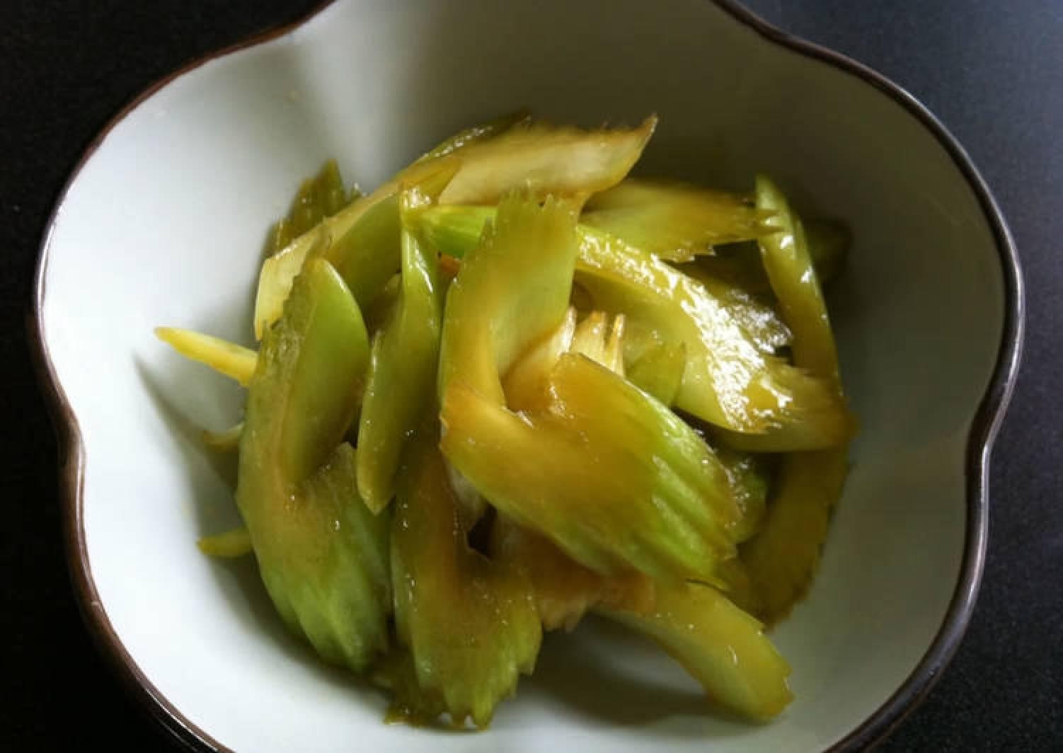 Ponzu Celery