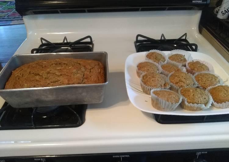 GF Zucchini Bread or Muffins