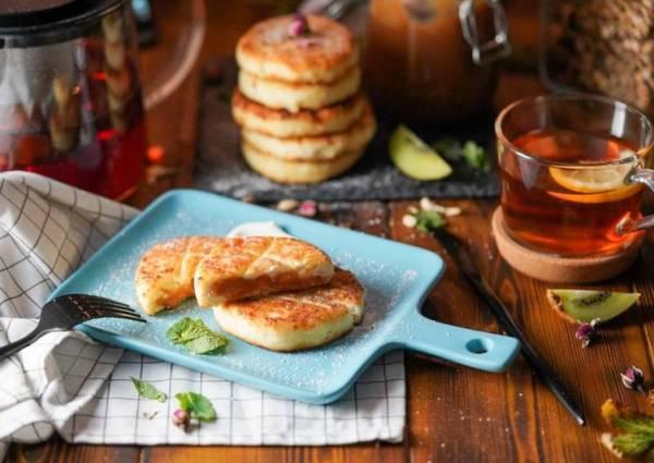 Сырники с начинкой - пошаговый рецепт с фото. Автор ...