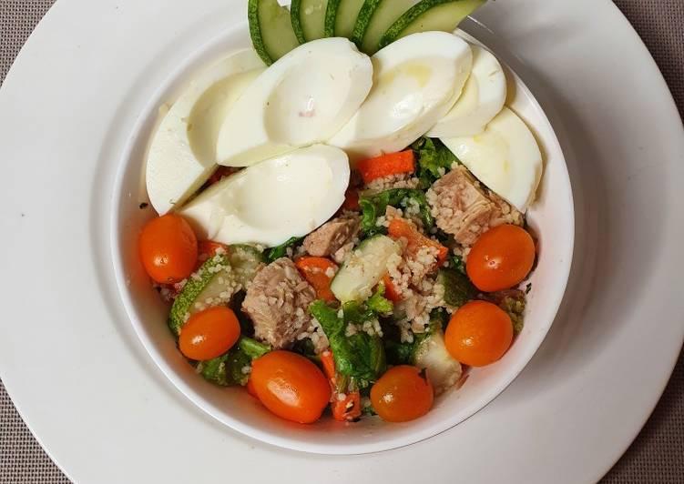 A healthy fat loss salad