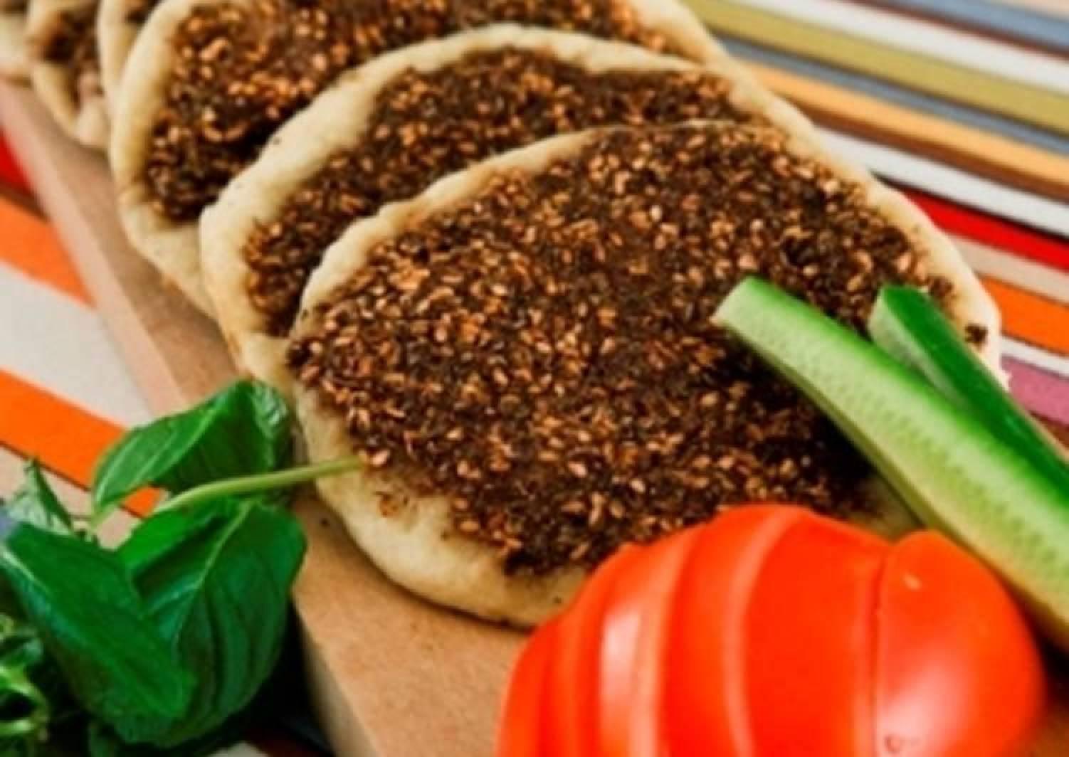 23+ Recipe of Homemade Manakish zaatar   Tasty Guide Galerie