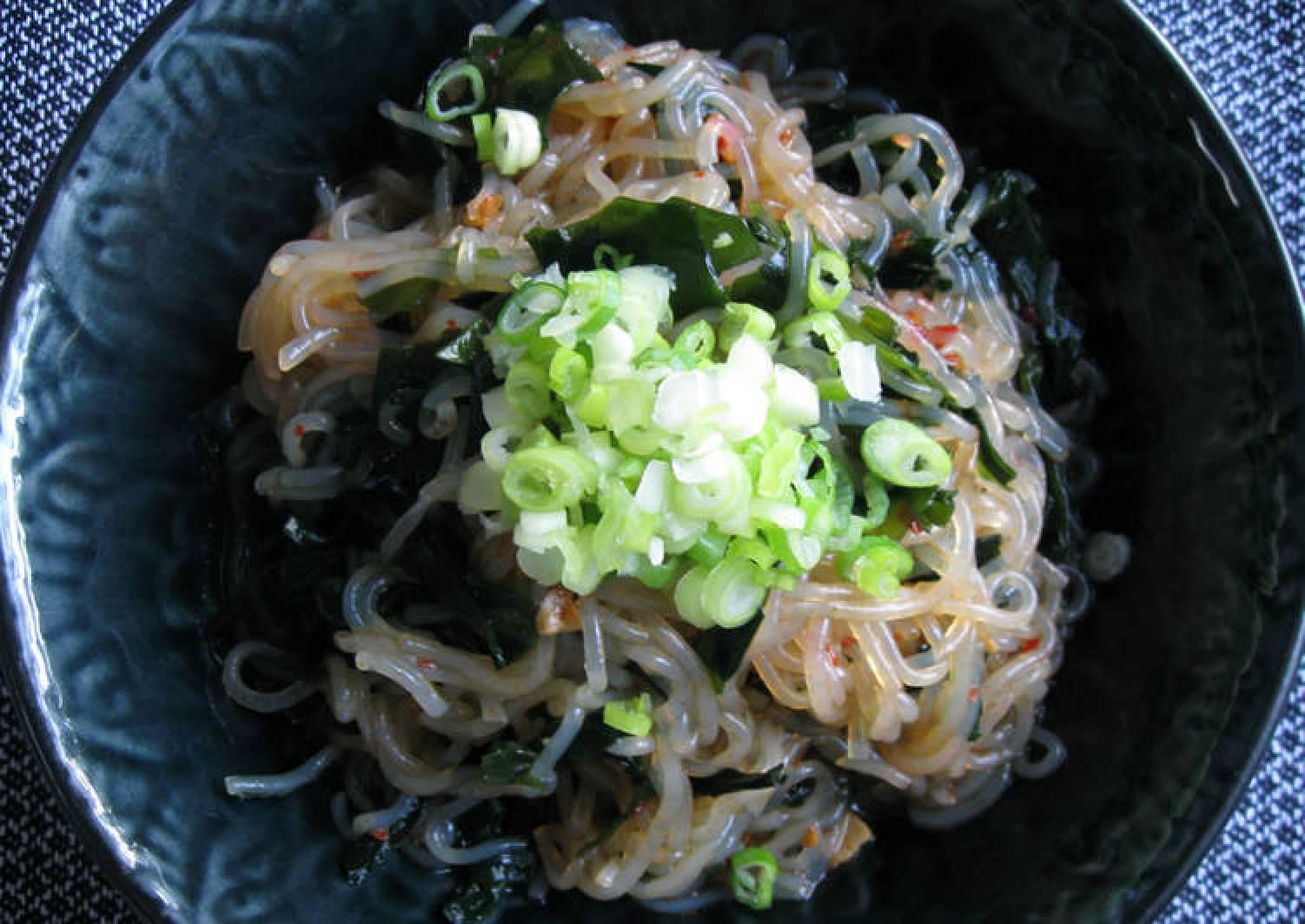 Shirataki & Wakame Ponzu Salad