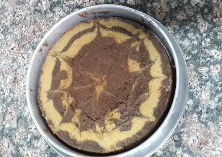 Simple Way to Make Homemade Wheat flour and suji cake