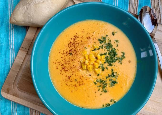Der einfache Weg Um Perfekte Mais-Kokos-Suppe zu machen