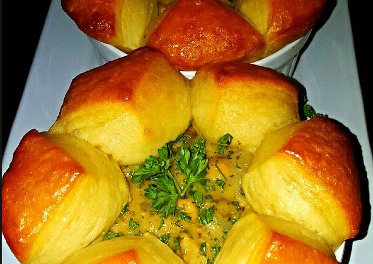 Mikes Turkey Pot Pies