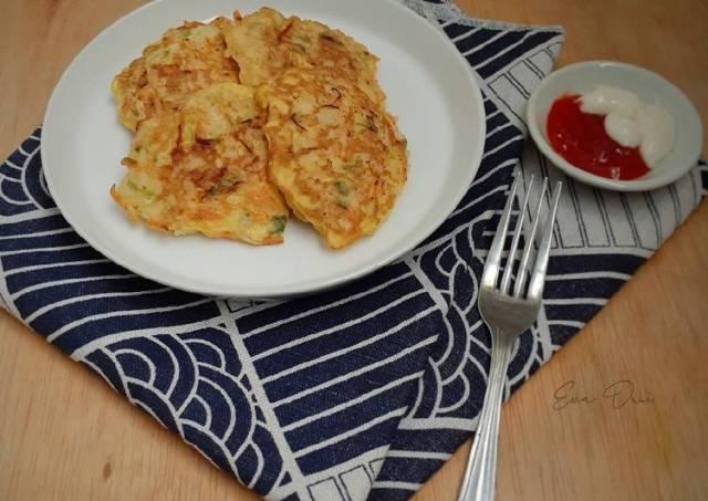 Bakwan Wortel Telur