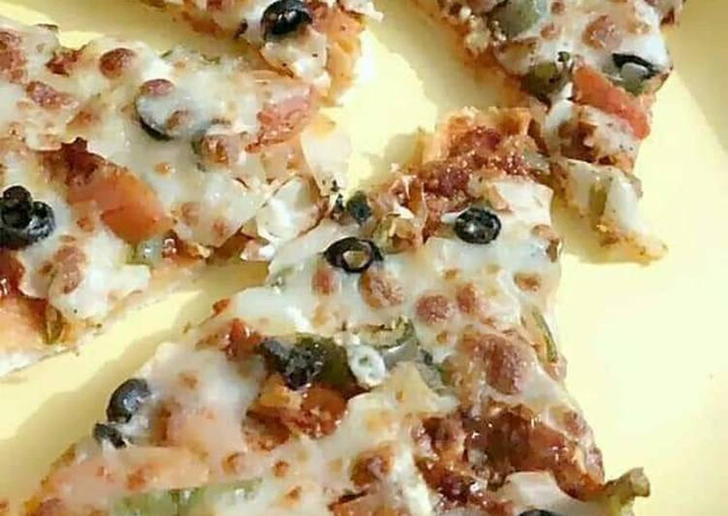 Cheese pizza bite