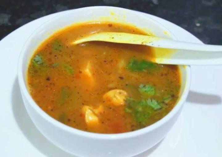 Country Chicken Soup/Nattu Kozhi Rasam