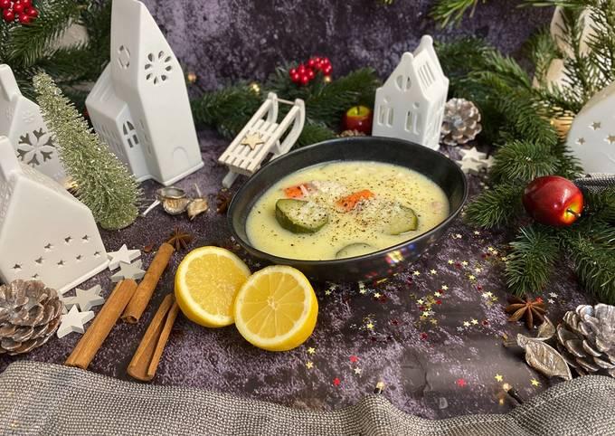Der einfache Weg Um Schnell Gewinnende Kotosoupa Avgolemono - Hähnchensuppe mit Ei-Zitrone-Soße zuzubereiten