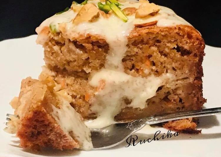 Carrot & Nuts cake