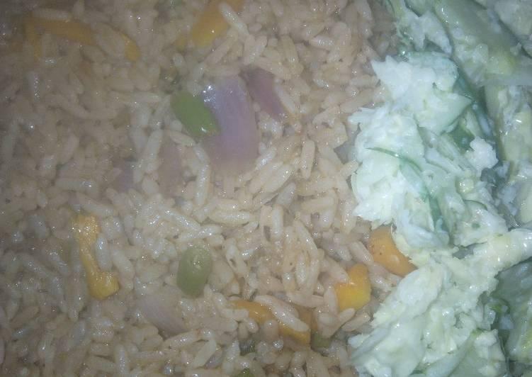 Easiest Way to Prepare Any night of the week Clove Jollof Rice