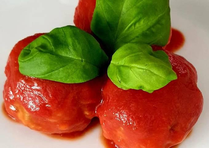 Der einfache Weg Um Nelson Muller Hähnchen-Hackbällchen mit Tomatensoße zuzubereiten