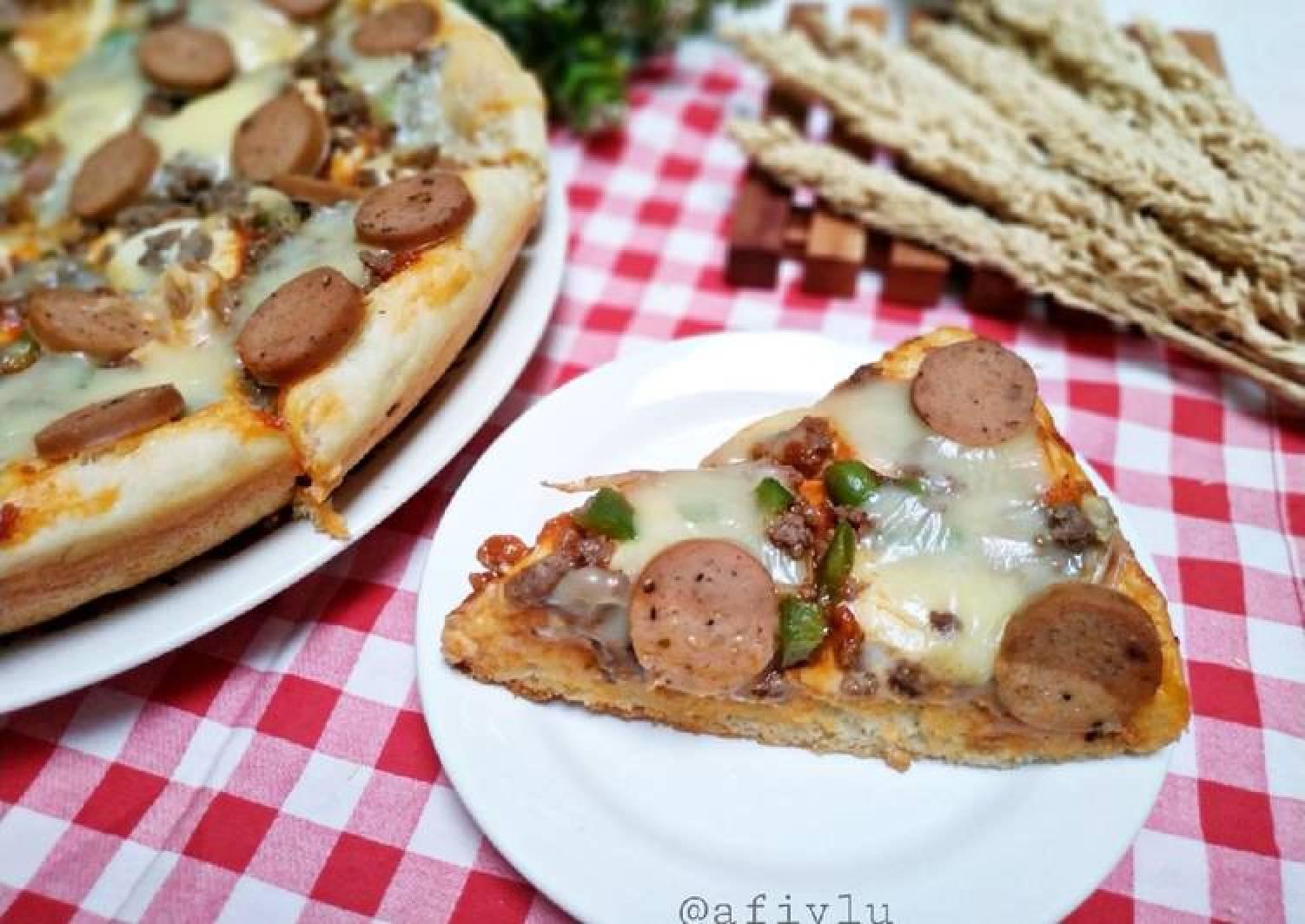 Bagaimana Menyiapkan Pizza Teflon Tanpa Ulen Bisa Oven Yang Lezat Sekali Resep Terbaik Viral