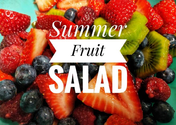 Summer Fruit Salad🍓