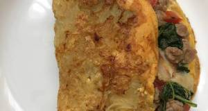 Beef Hash Brown Omelette