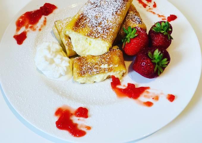 Der einfachste Weg Um Gordon Ramsay Pfannkuchen mit Ricotta-Füllung �👌🥞 zuzubereiten