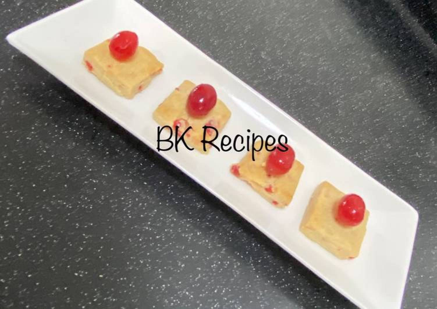 Cherry Shortbread