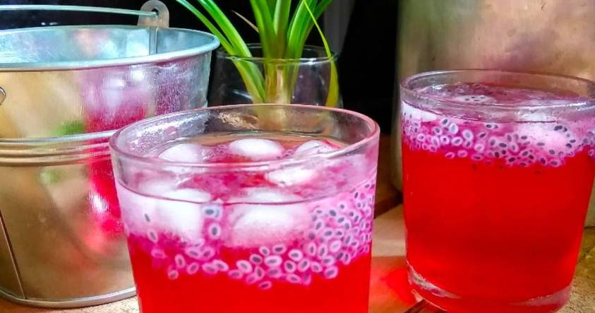 Sirap selasih. Must Try Drinks in Malaysia | Ummi Goes Where?
