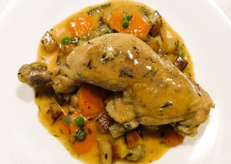 Skillet Chicken Stew