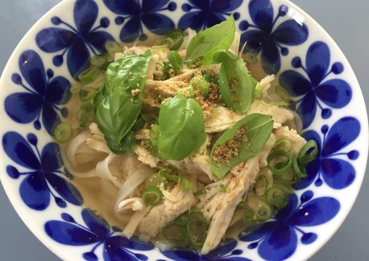 Turkey Pho Vietnamese rice noodles Gluten Free